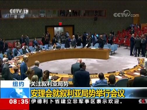 [朝闻天下]关注叙利亚局势 纽约 安理会就叙利亚局势举行会议