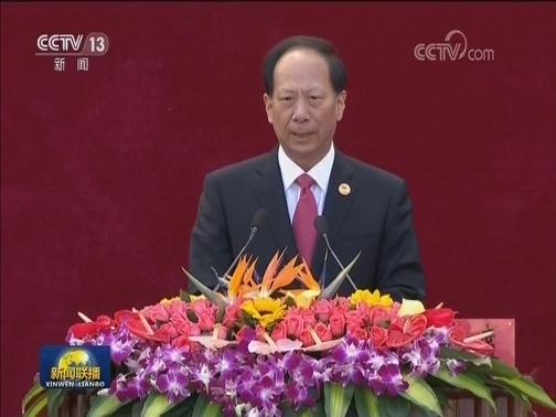 [视频]宁夏各族各界隆重庆祝自治区成立60周年 汪洋出席大会并讲话
