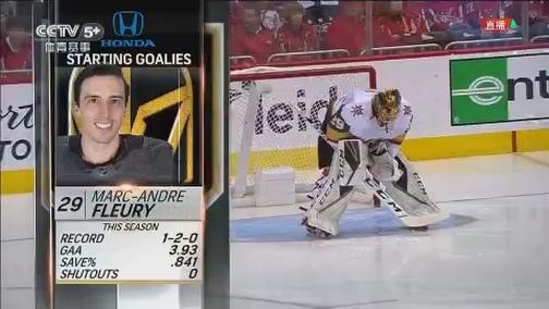 [NHL]常规赛:金骑士VS首都人 第一节
