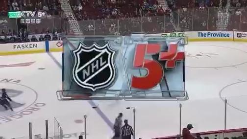 [NHL]常规赛:芝加哥黑鹰VS温哥华加人 第二节