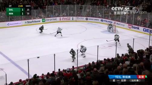 [NHL]常规赛:达拉斯星VS明尼苏达狂野 加时赛