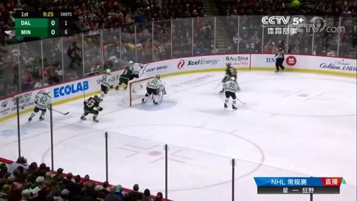 [NHL]常规赛:达拉斯星VS明尼苏达狂野 第一节