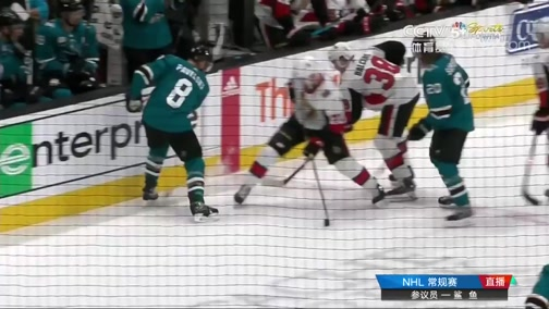 [NHL]常规赛:渥太华参议员VS圣何塞鲨鱼 第三节