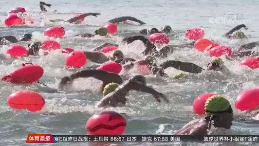 [游泳]横渡刘公岛公开水域游泳国际邀请赛举行