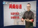 【学说闽南话】生赢鸡酒芳 生输四片板 2019.09.04 - 厦门卫视 00:01:16
