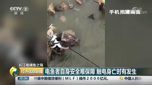 [经济信息联播]长江电捕鱼之殇 《渔业法》亟待修订 提高违法成本是关键