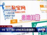 """这个""""双11"""" 台湾也疯狂! 两岸直航 2019.11.15 - 厦门卫视 00:28:04"""