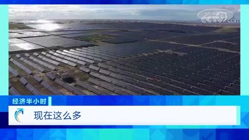 """《经济半小时》 20200213 光伏电站""""长庄稼"""""""