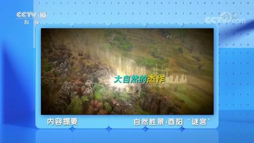"""《地理·中国》 20200328 自然胜景·酉阳""""谜宫"""""""