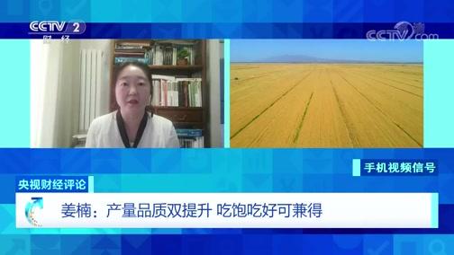 """《央视财经评论》 20200616 夏粮丰收成定局 """"饭碗""""稳稳的"""
