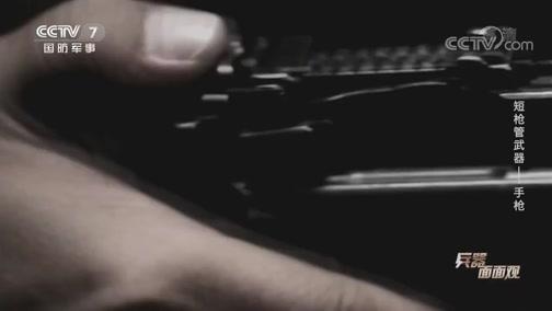 《兵器面面观》 20200701 短枪管武器——手枪