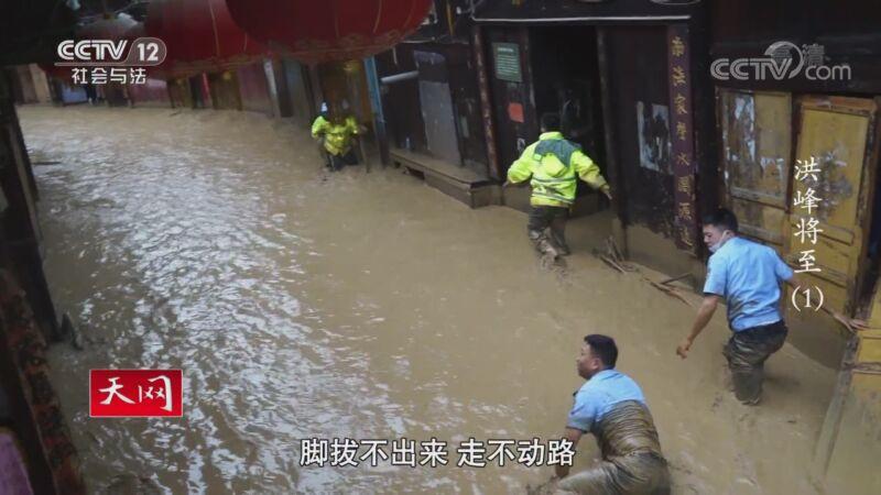 《天网》 20201012 系列纪录片《洪峰将至》(1)