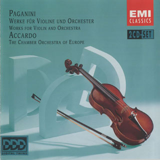 帕格尼尼 小提琴与乐队作品(阿卡多)