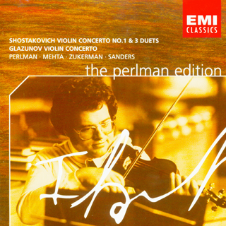 科维奇 第一号小提琴协奏曲和三首小提琴二重奏 帕尔曼图片