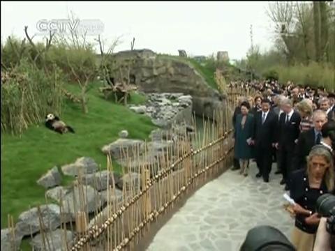 Visite d'Etat du président chinois en Belgique
