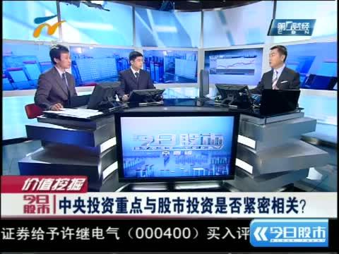今日股市,上视第一财经频道《今日股市》,在线