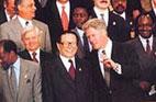 1995<br>Entretien officiel entre Jiang Zemin et Bill Clinton à New York