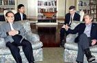 2002<br>Visite du travail du président chinois Jiang Zemin aux Etats-Unis