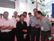 广电总局领导王莉莉来BIRTV2012现场参观指导