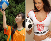 <font color=blue>《一鸣下午茶》第三十一期:美女与足球</font>