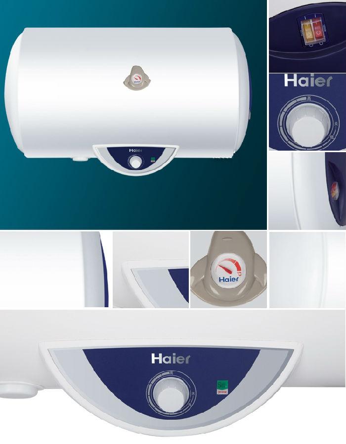 海尔(haier)fcd-h60h(e)电热水器 机械版 防电墙,安全