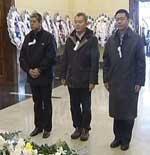 中央电视台领导前来悼念