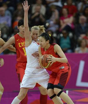 中国女篮胜克罗地亚 出线形势一片大好