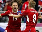 فازت جمهورية التشيك على اليونان 2-1