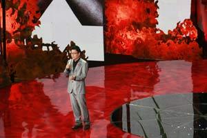 央视主持人王筱磊主持世界艾滋病日央视主题晚会