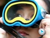 《潜水镜女孩》
