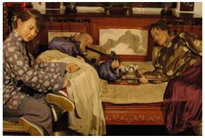 <b>Shanghai History Museum - Opium den</b>