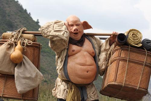 猪八戒——臧金生饰