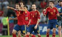 <center>西班牙0(4)-0(2)葡萄牙</center>