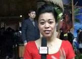 萨摩亚参展人员热情迎客 称赞上海高楼林立