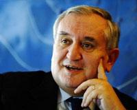 Jean-Pierre Raffarin : l´ancien premier ministre français