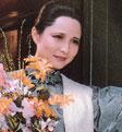 Li Ling, membre du Parti Zhi Gong Dang de Chine, actrice du Théatre National de Chine