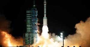 Lancement du vaisseau spatial Shenzhou VIII