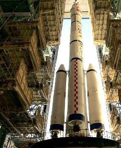 La fusée Longue marche 2F
