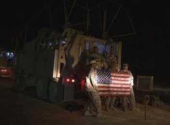 Fin officielle de la guerre en Irak