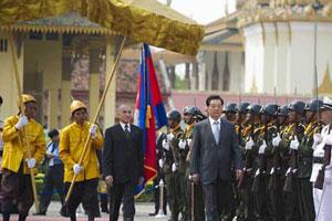La visite du président Hu va ouvrir un nouveau chapitre dans les relations sino-cambodgienne
