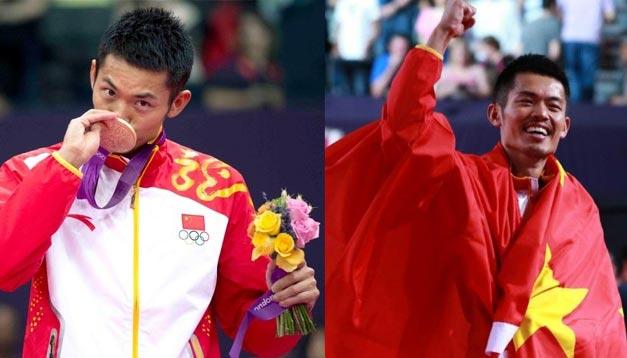 <br>伦敦奥运会第26金 林丹羽毛球男单夺冠
