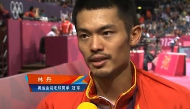 <br>[伦敦奥运会]林丹:金牌是对羽毛球运动的肯定