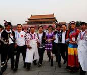 感受首都历史文化和崭新面貌