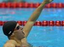 男子200米蛙泳决赛 古尤塔破纪录夺冠