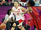 中国女篮大胜安哥拉强势晋级八强