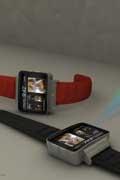 苹果风格的iWatch手表 内置的小型投影仪