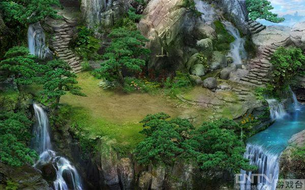 游戏中的风景,树木,花草,地面,建筑等等画面都非常的考究,画面清晰