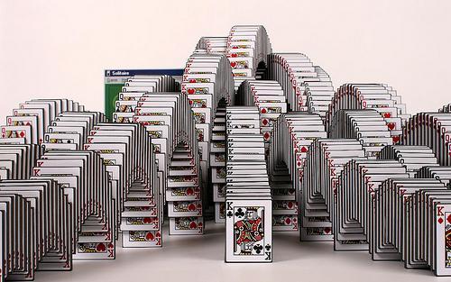 纸牌结构承重设计图