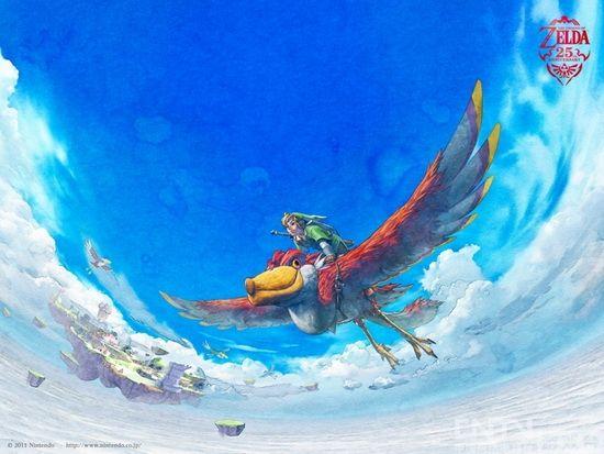 《塞尔达传说 天空之剑》开场宣传新影像公开
