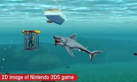 3DS《大白鲨 终极猎食者》发售日与新画面公开